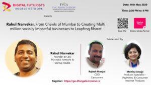 """Rahul Narvekar: """"An Entrepreneur's Journey from"""